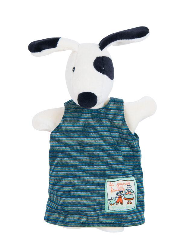 moulin roty 632198 γαντόκουκλα σκύλος