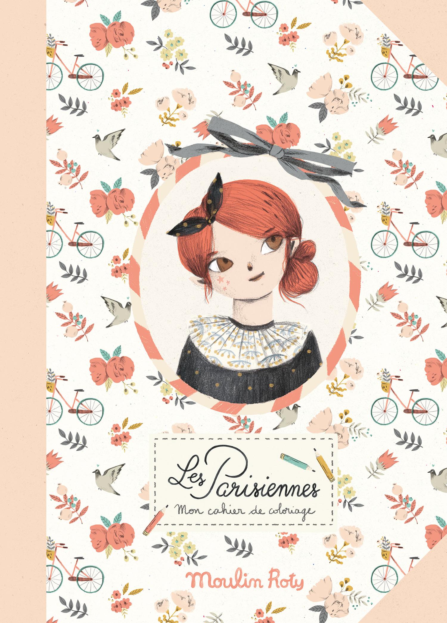 moulin roty 642536 Τετράδιο χρωματισμού Παριζιέν 36 σελ.