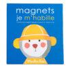moulin roty 661365 Μαγνητικό παιχνίδι -Ντύνομαι ανάλογα με τον καιρό