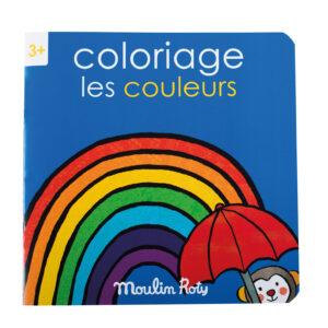 moulin roty 661603 Mπλοκ χρωματισμού -τα χρώματα