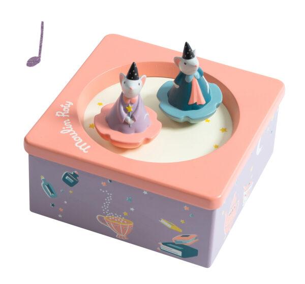 moulin roty 664104 μουσικό κουτί ποντικάκια