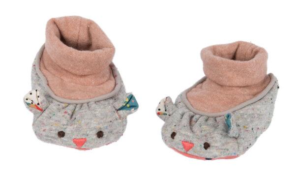 moulin roty 665011 παπούτσια μωρού λαγουδίνα
