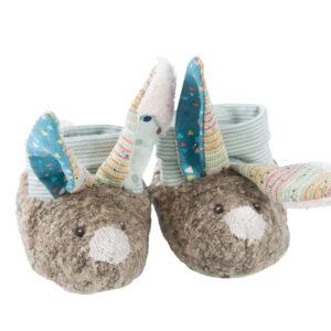 moulin rοty 665012 παπούτσια μωρού λαγός