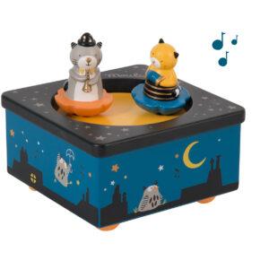moulin toty 666105 μουσικό κουτί γατούλες