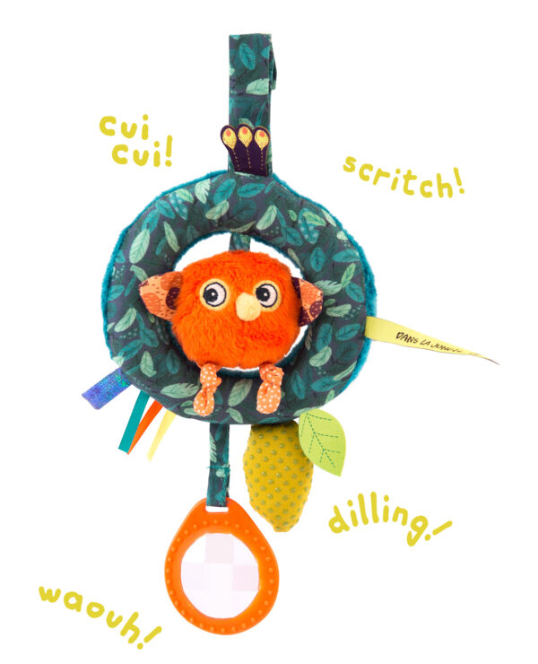 moulin roty 668074 Δραστηριότητες μωρού Πουλάκι