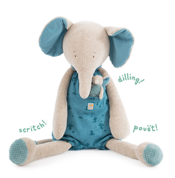 moulin roty 669027 ελέφαντας 88εκ