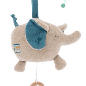 moulin roty 669057 Μουσικός Ελέφαντας κρεμαστό