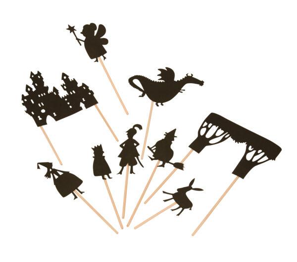 moulin roty 711003 Φιγούρες για θέατρο σκιών - δάσος
