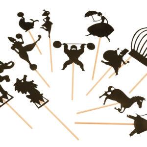 moulin roty 711017 Φιγούρες για θέατρο σκιών - τσίρκο