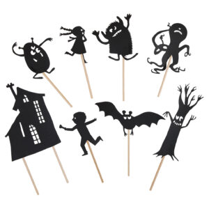 moulin roty 711057 Φιγούρες για θέατρο σκιών που φωσφορίζουν