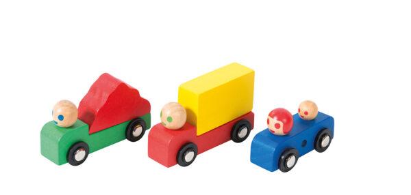 moulin roty 720406 Σετ οχημάτων ξύλινων