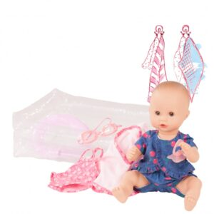 Goetz 2053141 Μωρό Μπάνιου 33εκ με Σετ Πισίνας 9τμχ