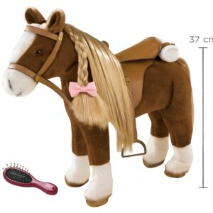 Goetz 3402375 Άλογο Μεγάλο Καφέ με Σετ Αξεσουάρ 6 τμχ