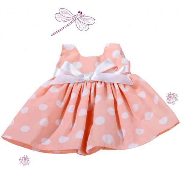 Goetz 3402491 Φόρεμα Ροζ Πουα για Κουκλα 42-46εκ