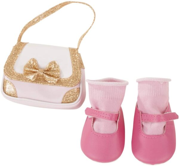 Goetz 3402997 Σετ Λαμπερά Αξεσουάρ - Τσάντα -Παπούτσια -Κάλτσες για Κούκλα 45-50εκ