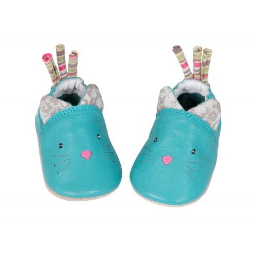 moulin roty 660522 Παπούτσια μωρού 12-18 μηνών Δέρμα Γατούλης