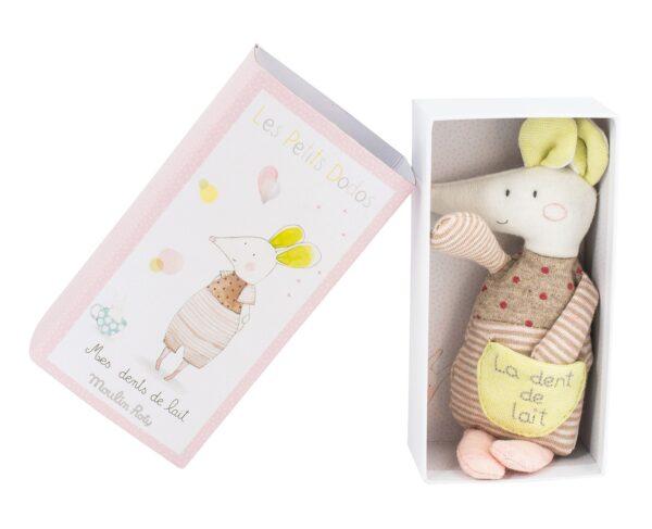 moulin roty 663051 Θήκη για δοντάκι Ποντικάκι με κουτί