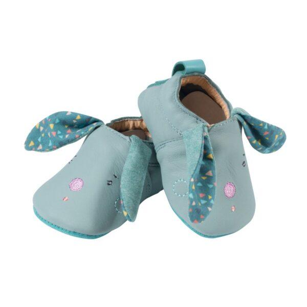 moulin roty 665526 Παπούτσια μωρού 0-6 μηνών Δέρμα