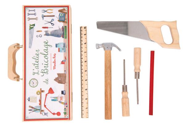 moulin roty 710408 Σετ εργαλειοθήκη μικρό