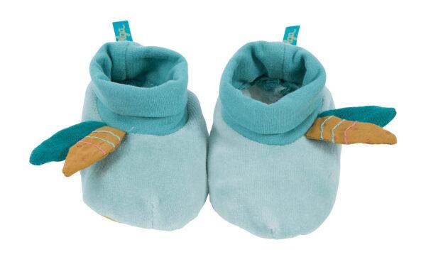 moulin roty 714011 Παπούτσια μωρού 0-6 μηνών Γαλάζια