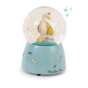 moulin roty 714241 Μουσική χιονόμπαλλα Χήνα