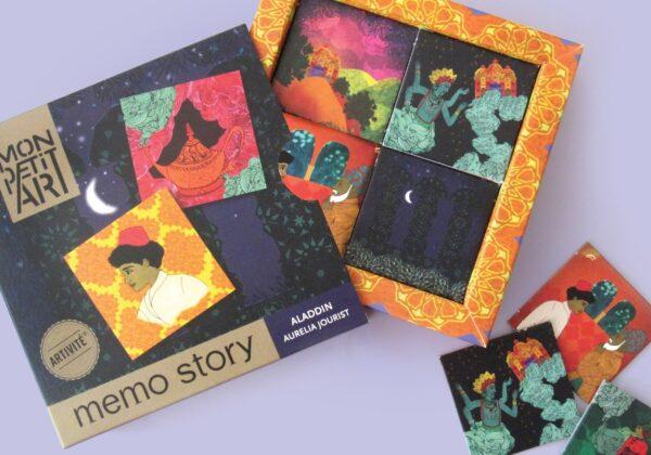 MonPetitArt MEMJOU1 Παιχνίδι Μνήμης με τον Αλλαντίν - 60 κάρτες