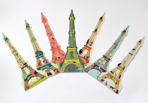 MonPetitArt MQPSEV1 Σελιδοδείκτες 8 τμχ - Παρίσι