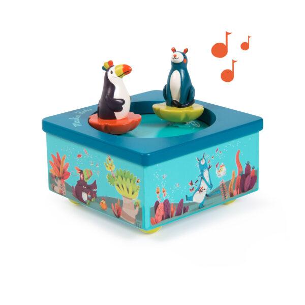 moulin roty 668105 Μουσικό κουτί -χορευτές