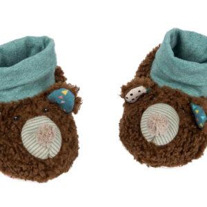moulin roty 665010 Παπούτσια μωρού Αρκουδάκι 0-6 μηνών