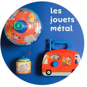 les jouets Metal