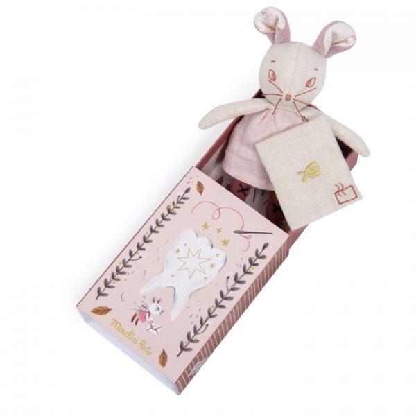 moulin roty 715005 Θήκη για τα δοντάκια γάλακτος Ποντικακι