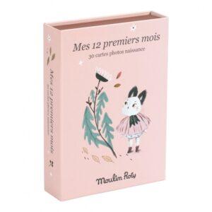 moulin roty 715601 Καρτες για αναμνήσεις των πρωτων 12 μηνων του μωρού