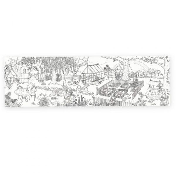 moulin roty 712607 Αφίσα Ζωγραφικής 1,5 μ. - Ο κήπος