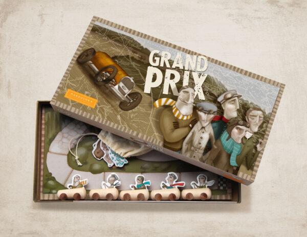 Marbushka Grand Prix - Επιτραπέζιο Αγώνες Ράλι 2-5 παίκτες