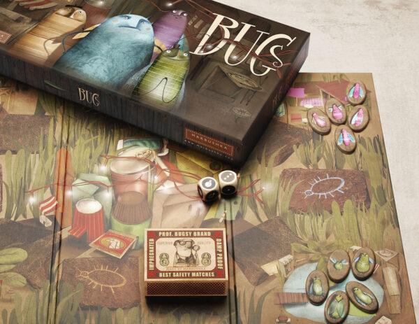 Marbushka BUGS Επιτραπεζιο παιχνίδι - Σφάλματα 2-6 παίκτες