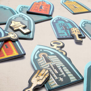Marbushka The Ghost and the Golden Keys -Επιτραπέζιο Φάντασμα και Χρυσά Κλειδιά 1-4 παίκτες