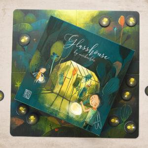 Marbushka Glasshouse- Επιτραπέζιο Γυάλινο Σπίτι - έως 4 παίκτες