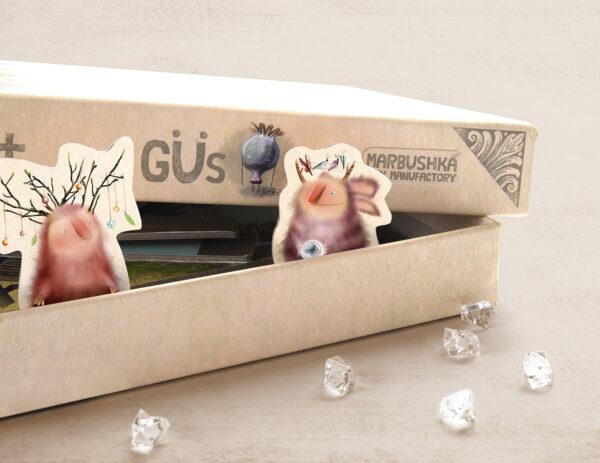 Marbushka Gu Επιτραπέζιο Οι Γκί - έως 4 παίκτες