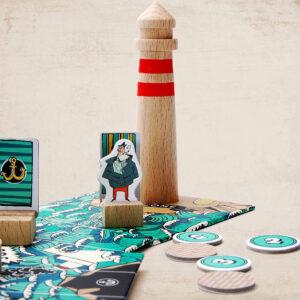 Marbushka Lighthouse adventure- Επιτραπέζιο Περιπέτεια στον Φάρο 2-4 παίκτες