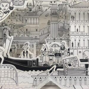 MonPetitArt C3CBOS2 Ζωγράφισε τα Αξιοθέατα της Βενετίας