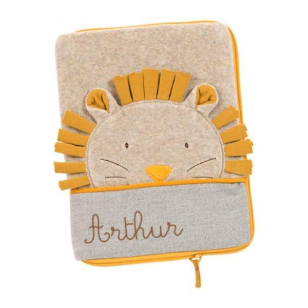 moulin roty 669081 Θήκη Βιβλιαρίου Υγείας - Λιοντάρι